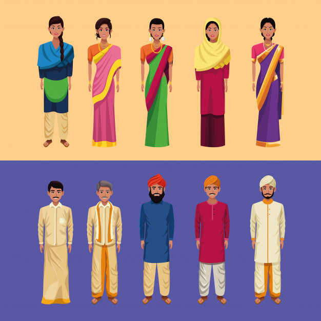 National Dress of India | Symbols of India