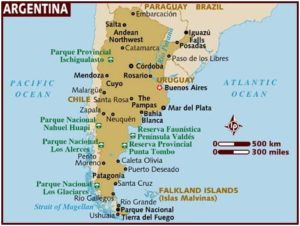 What Is The National Map of Argentina?