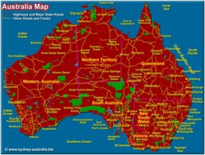 What Is The National Map of Australia?
