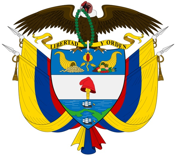 What is The National Coat of Arms of Colombia?
