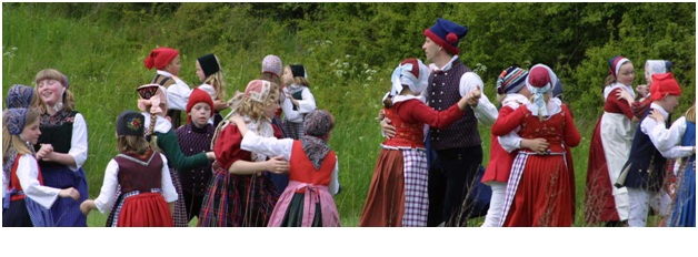 What is The National Dances of Denmark?