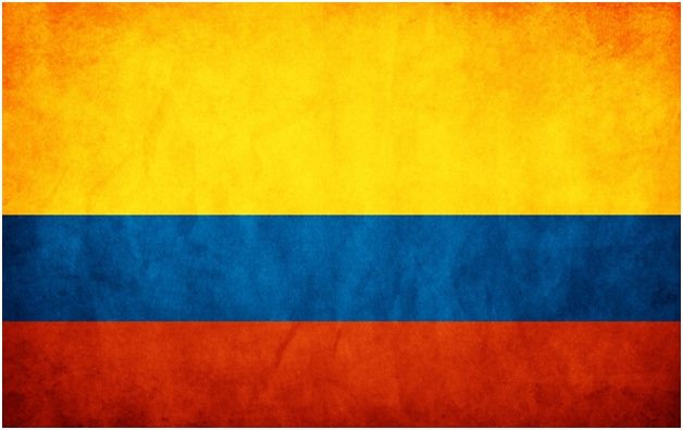 What is The National Flag of Colombia?