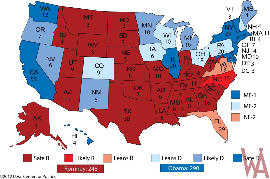 Electoral Mapping 2012