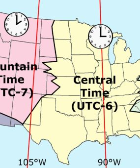 Most Popular Time zone map of the USA WhatsAnswer