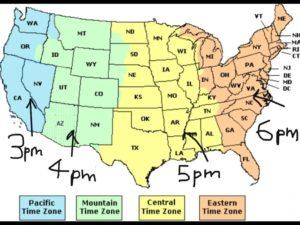 US Map US State Map Map of America WhatsAnswer