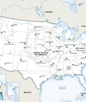 united states map showing major rivers WhatsAnswer