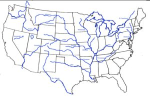 Blank Outline Map 2 of the USA | WhatsAnswer