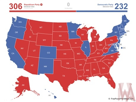 US Election Map
