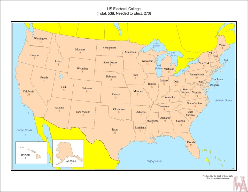 US electoral College votes WhatsAnswer