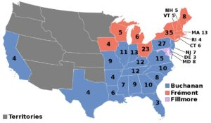 electoral college map 2 political election of USA