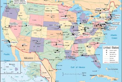 Major tourist attractions maps of the USA | WhatsAnswer