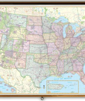 universal enlarged political Map of the United States WhatsAnswer