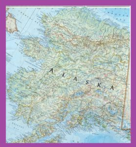 Alaska Large Detailed Map | Large Detailed Map of Alaska