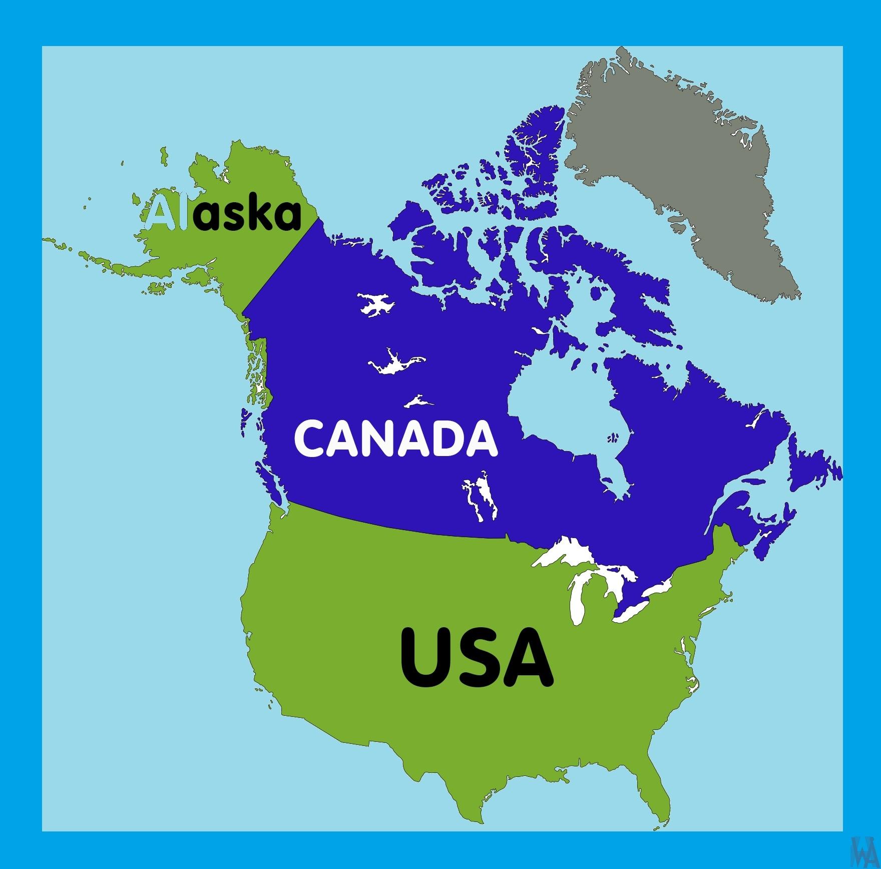 Alaska Location Map |  Location  Map of Alaska