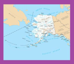 Alaska Political Map  | Political  Map of Alaska – 2