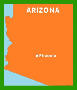 Arizona Capital  Map |  Capital  Map of Arizona