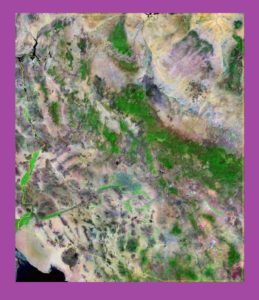 Arizona Satellite Map |  Satellite  Map of Arizona