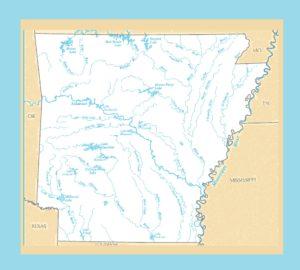Arkansas River Map     River  Map of  Arkansas