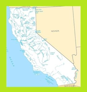 California Rivers  Map | Rivers  Map of California