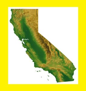 California Satellite  Map |  Satellite  Map of California