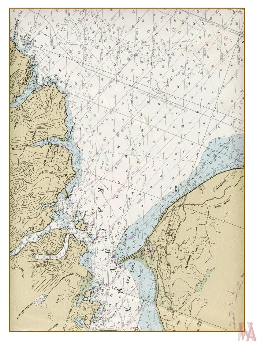 The Map of Kachemak Bay