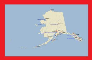 Alaska Detailed Map |  Detailed Map of Alaska Large Printable