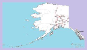 Alaska Road Map | Large Printable and Standard Map