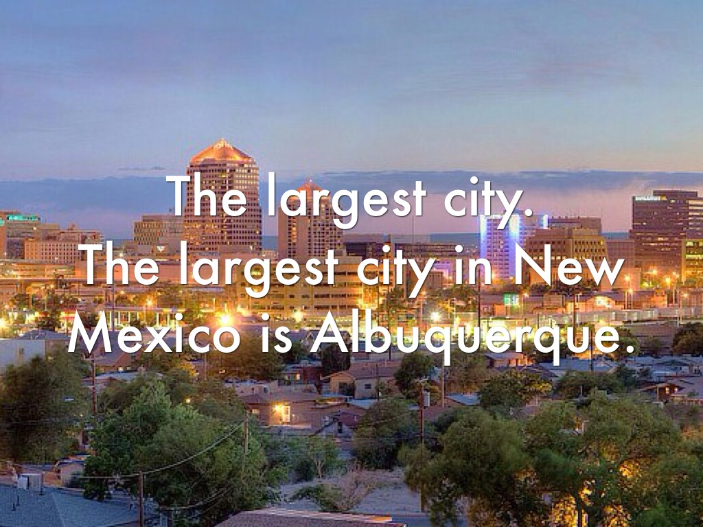 Biggest Cities in New Mexico