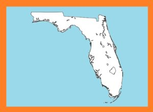 Florida Blank Outline Map | Large Printable and Standard Map 5