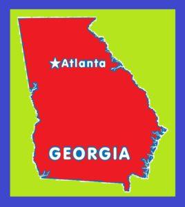 Georgia Capital Map | Large Printable and Standard Map 6