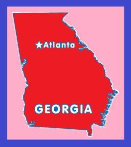 Georgia Capital Map   Large Printable and Standard Map 8