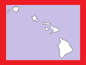 Hawaii Blank Outline Map | Large Printable and Standard Map 15
