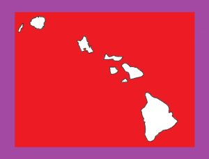 Hawaii Blank Outline Map | Large Printable and Standard Map 5