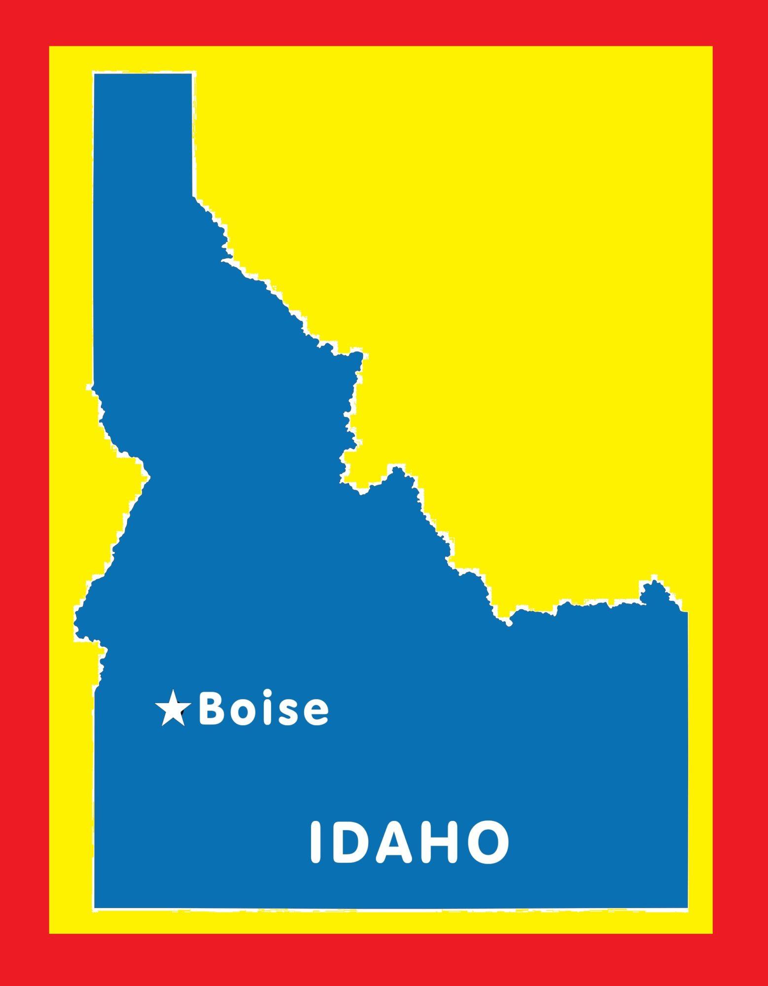 Idaho Capital Map | Large Printable and Standard Map 9