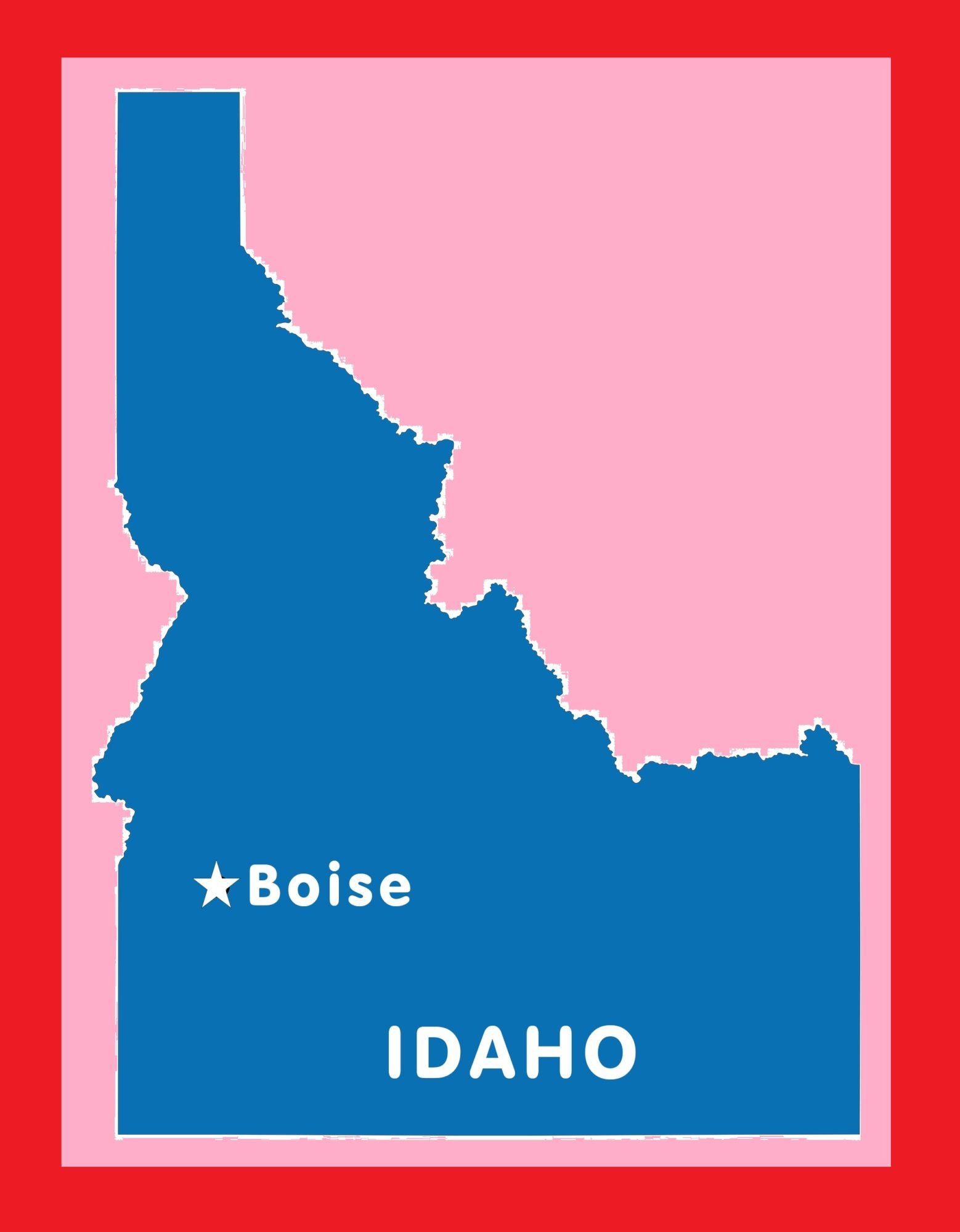 Idaho Capital Map | Large Printable and Standard Map 8