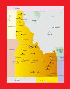 Idaho City Map | Large Printable and Standard Map