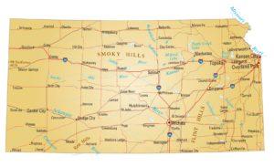 Kansas Details Map | Large Printable High Resolution and Standard Map