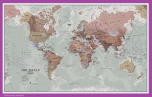 The World Political Map | Large, Printable, Children Choice,Political Map