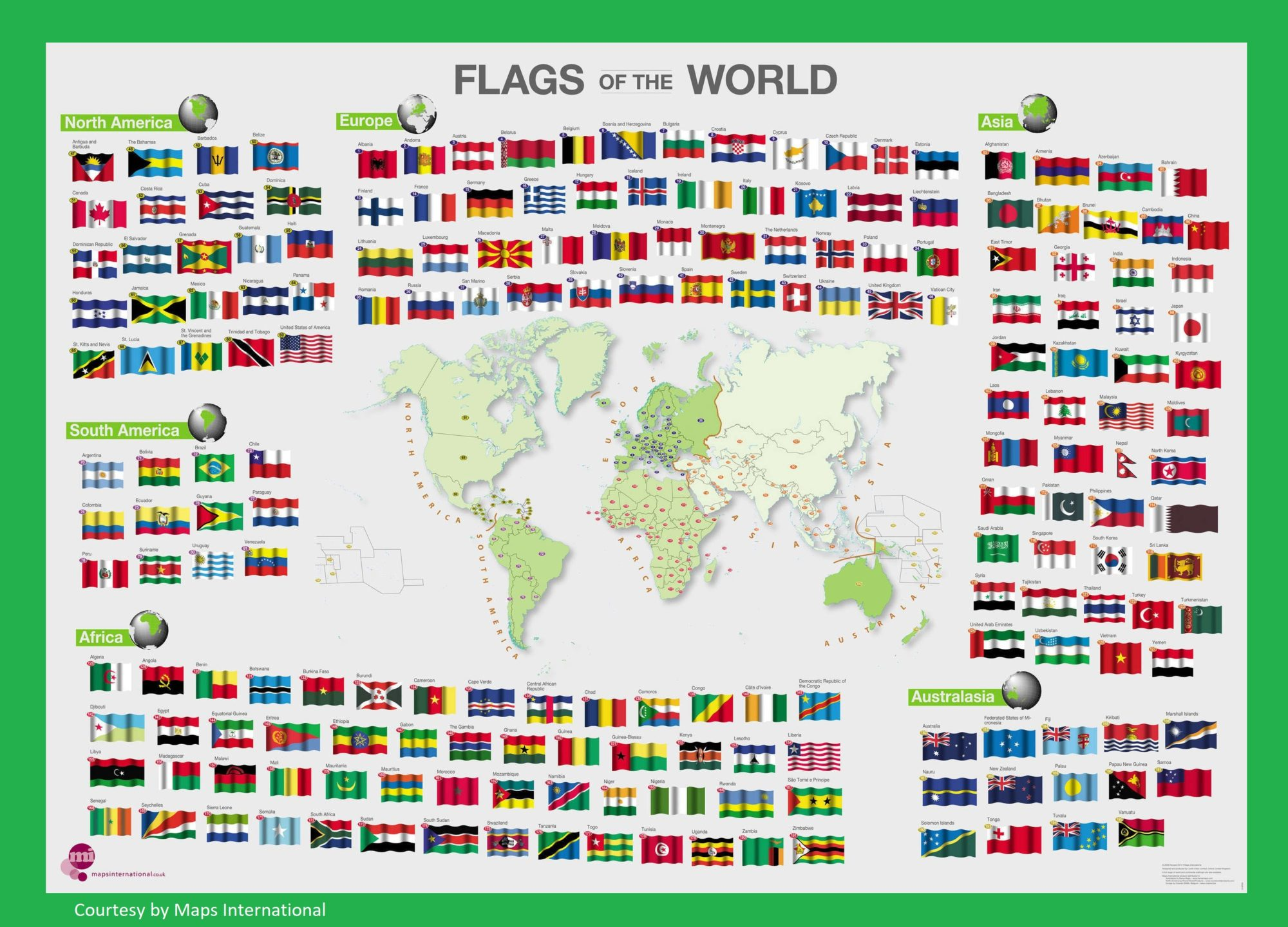 The World Map   Large, Printable, Children Choice