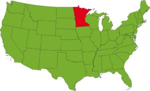 Minnesota Location Map   Large Printable High Resolution and Standard Map