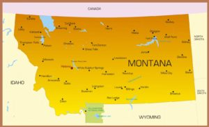 Montana City Map | Large, High Resolution City Map of Montana State