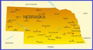 Nebraska Details Map | Large Printable High Resolution and Standard Map