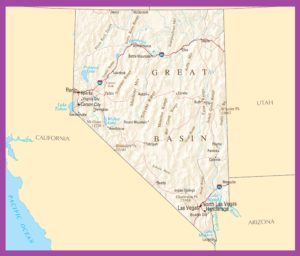 Nevada Political Map | Large Printable High Resolution and Standard Map