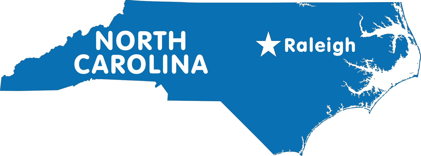 North Carolina Capital Map | Large Printable High Resolution and Standard Map