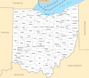 Ohio Cities Map | Large Printable High Resolution and Standard Map