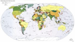 The World Political Map  | June 2003 | Large, Printable Downloadable Map