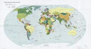 The World Political Map  | June 2010 | Large, Printable Downloadable Map