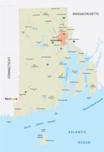 Rhode Island Cities Map | Large Printable High Resolution and Standard Map