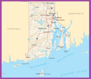Rhode Island Political Map | Large Printable High Resolution and Standard Map