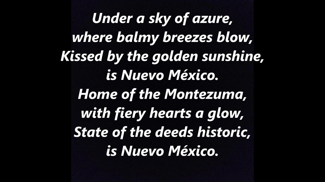 State Song Of New Mexico